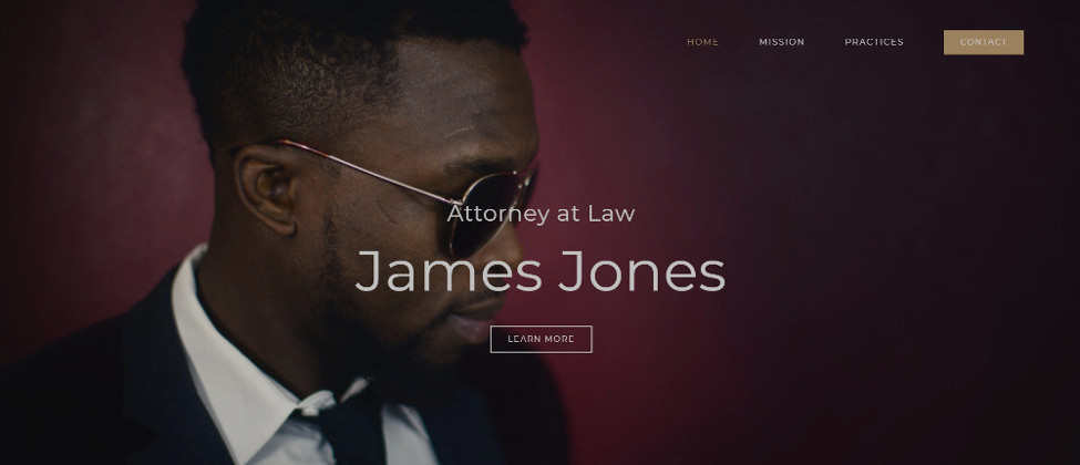 Agency Lawyer Website Demo