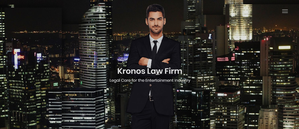 Kronos Law Website Demo