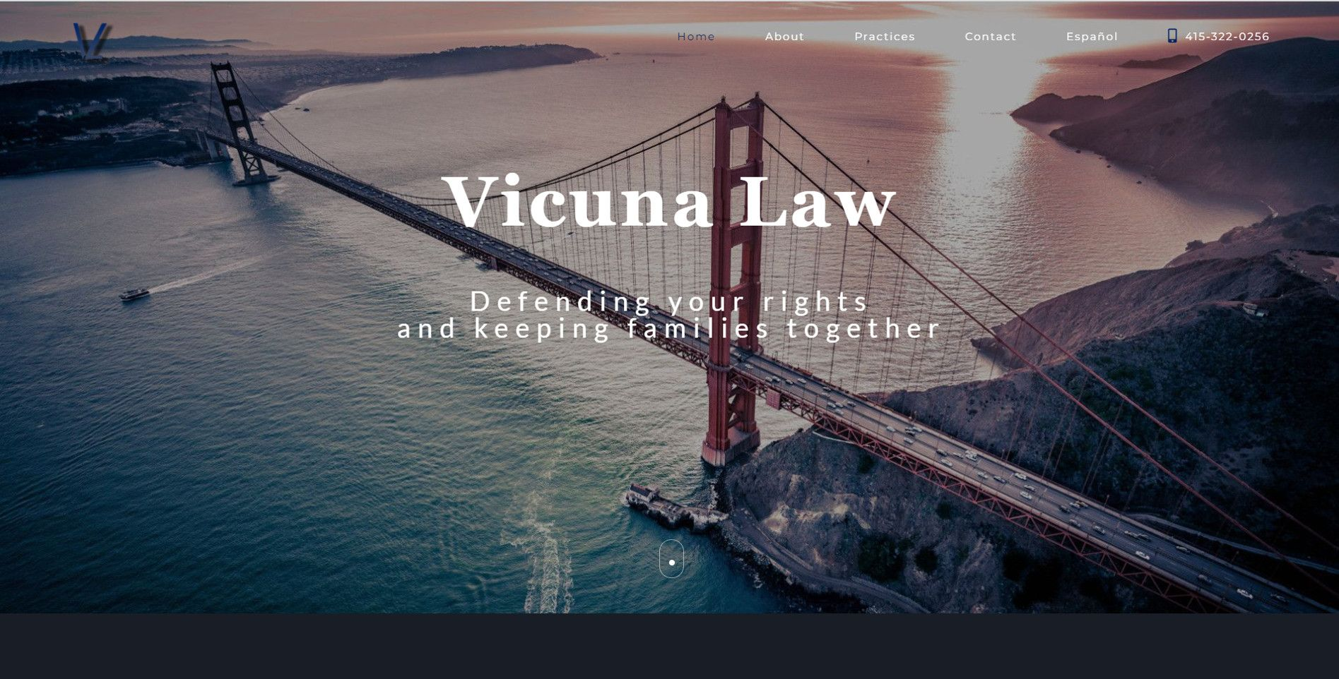 vicuna law home page